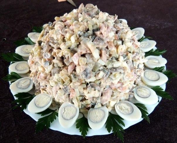 Раздничные салаты фото