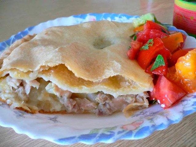 Рецепт приготовления «Кубэтэ» караимского пирога с мясом