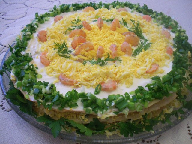 Рецепт приготовления «Закусочного» торта