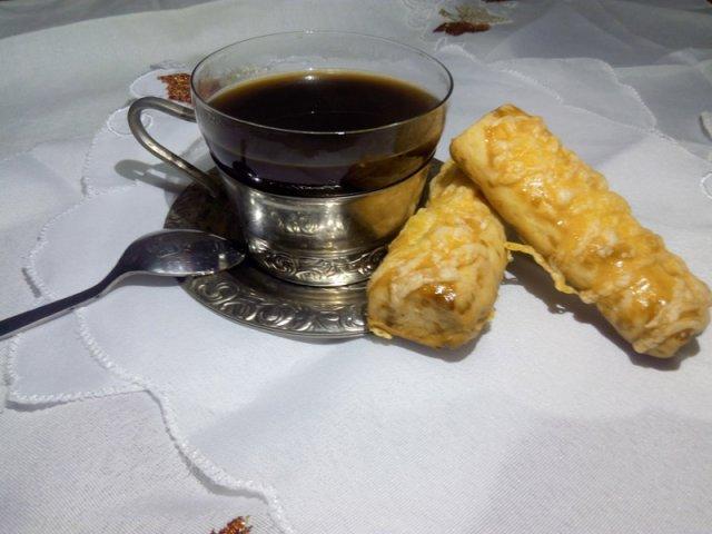 Сырные палочки к кофе