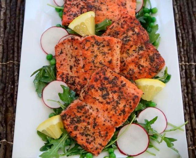 Супер простой способ приготовления лосося