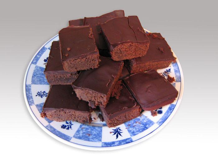 Шоколадные пирожные. Рецепт приготовления