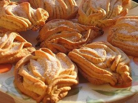 Печенье 'Хризантемы' из детства. Рецепт приготовления