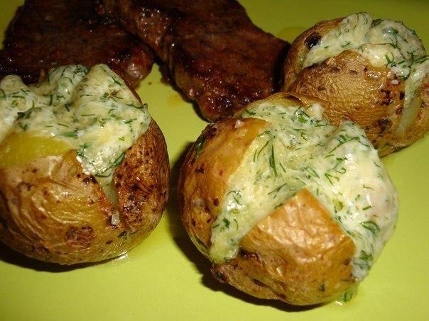 Картофель на гарнир. Рецепт приготовления
