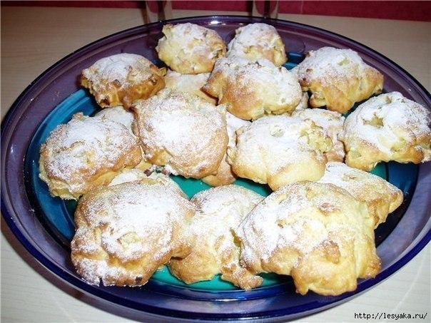 Вкусное яблочное печенье рецепт