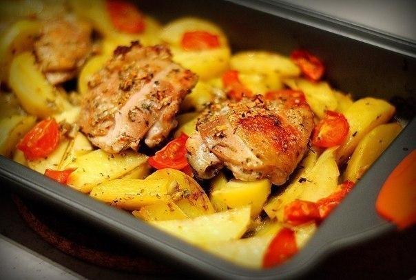 Как вкусно приготовить курицу в духовке по