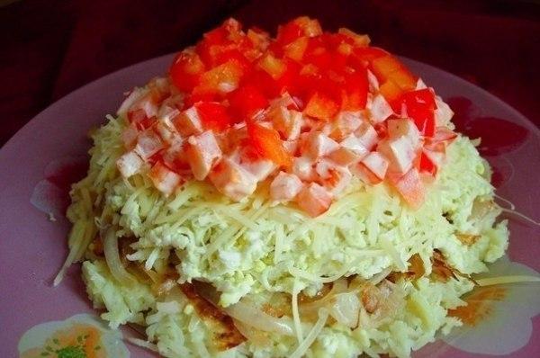 Легкие вкусные салаты рецепты