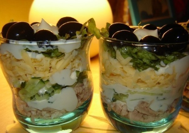 Рецепт салат-коктейль