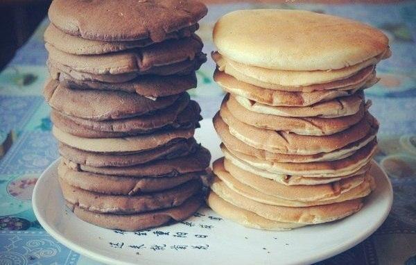 Чоко-панкейки на завтрак