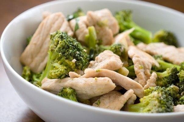 Рецепт из курицы и брокколи