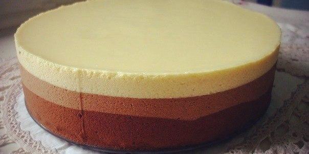 Фотоы торт три шоколада
