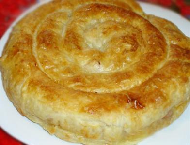 Сырная улитка. Рецепт приготовления