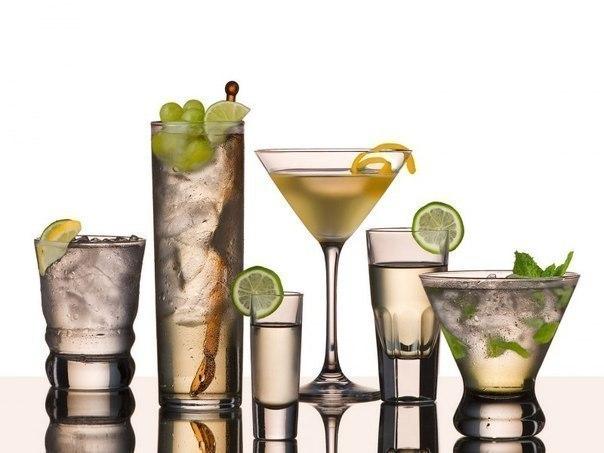 Готовим коктейли с водкой