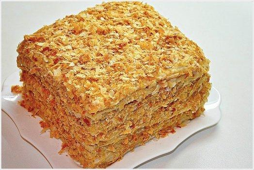 Торт 'Наполеон' домашний