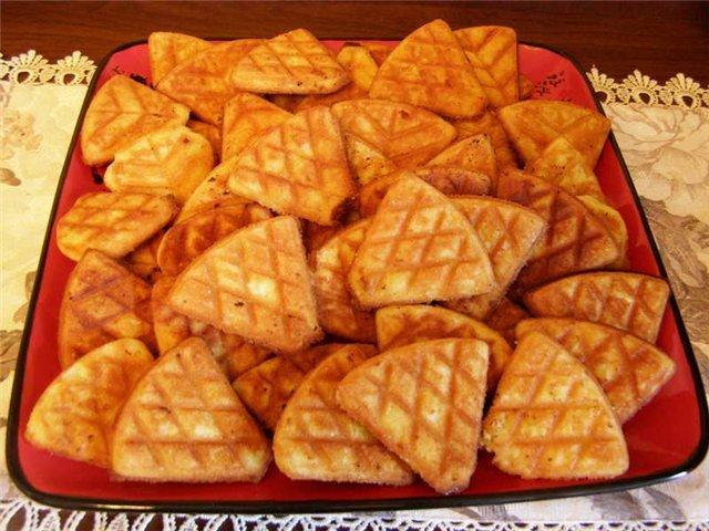 Как приготовить печенье на сковороде