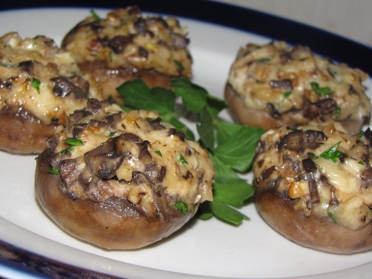 Рецепт приготовления белых грибов запеченных с сыром и овощами