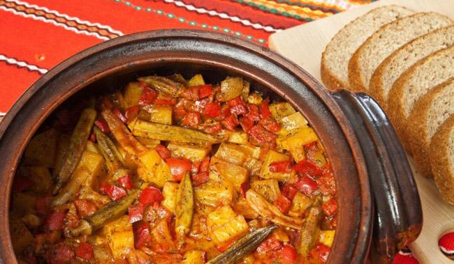 Рецепт приготовления жаркое из фасоли