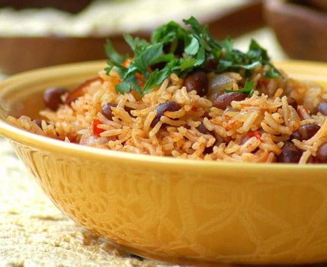 Рецепт приготовления риса с фасолью по-карибски