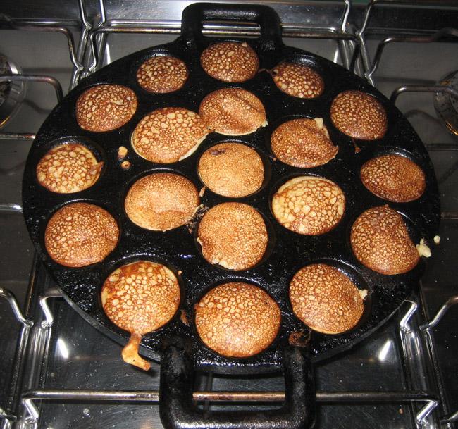 Рецепт приготовления голландских сладких блинов 2