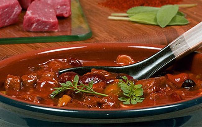 Рецепт приготовления египетского мясного супа - Фаттах
