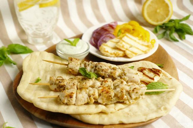Рецепт приготовления Сувлаки (шашлыки по гречески)