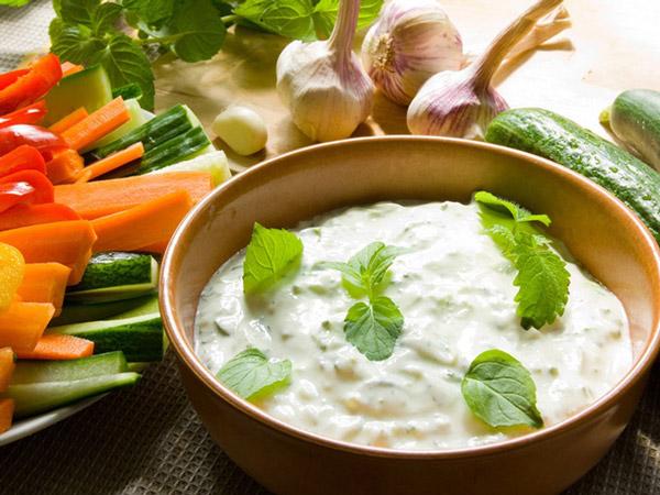 Рецепт приготовления греческого соуса Цацики